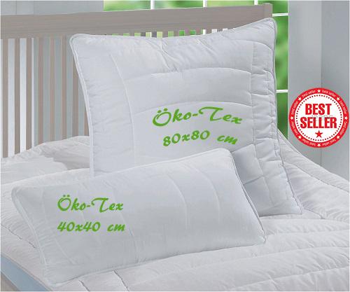 ko tex kopfkissen premium qualit t bis zu 70 g nstiger neu. Black Bedroom Furniture Sets. Home Design Ideas