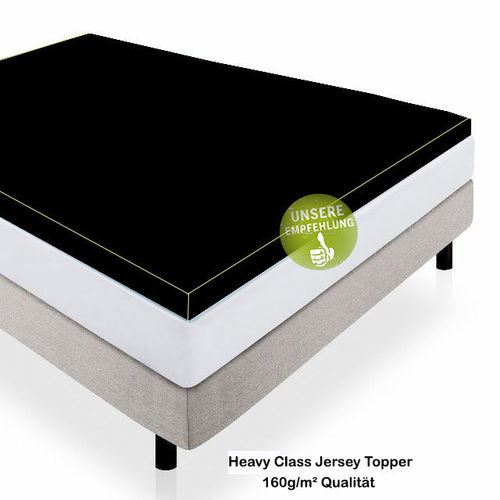 Heavy Class Jersey Topper 160g/m² Angebot des Moants!