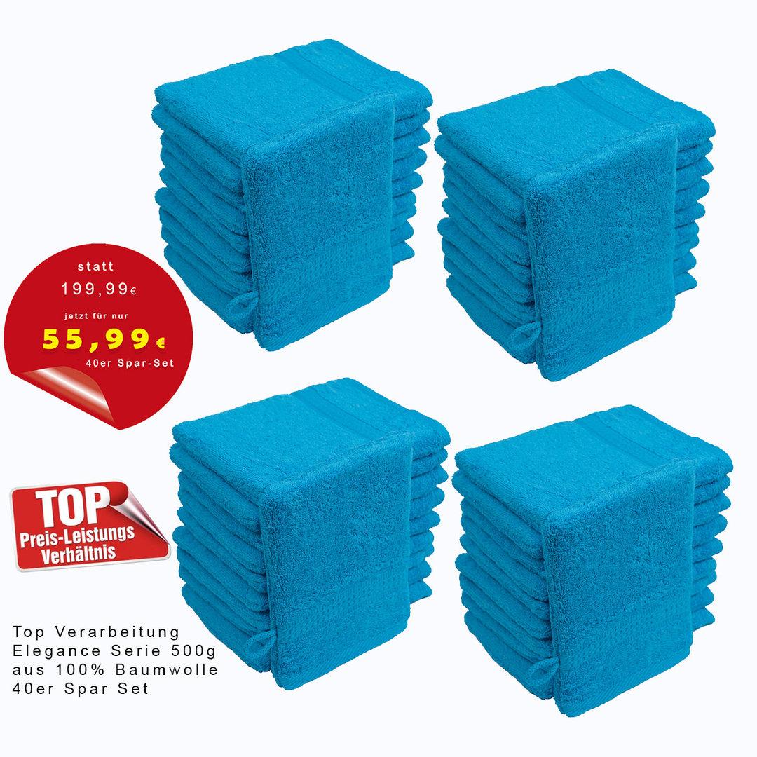 StickandShine 4er Set Premium Frottee Waschhandschuh 15x21 cm in gelb in 500g//m/² aus 100/% Baumwolle /Öko-TEX Standard 100 Materialien