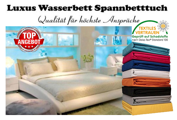 boxspringbett wasserbett spannbettlaken bis zu 70 g nstiger frottierware heimtextilien grosshandel. Black Bedroom Furniture Sets. Home Design Ideas